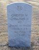 SGT Chester William Chillson Jr.