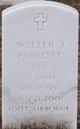 Profile photo:  Walter J Parrott