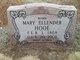 Mary Ellender <I>Clay</I> Hooe