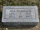 Profile photo:  Ada Dominick