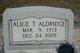 Alice <I>Foster</I> Aldridge