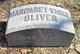 Margaret <I>Vance</I> Oliver