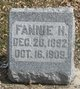 Profile photo:  Fannie H. Bot