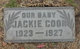 "Ray Jack ""Jackie"" Coon"