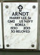Profile photo:  Harry Lee Arndt, Sr