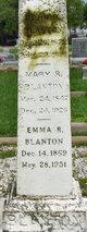 Profile photo:  Emma R Blanton