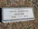 Vivian <I>Berringer</I> David
