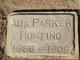 Profile photo:  Ada <I>Parker</I> Hunting