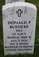 Profile photo:  Donald Paul Bussiere