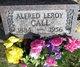 Profile photo:  Alfred Leroy Call