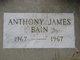 Profile photo:  Anthony James Bain