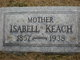Victoria Isabella <I>Boone</I> Keach