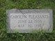 Profile photo:  Carolyn Pleasants