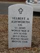"Profile photo:  Velbert A ""Cotton"" Ashworth"