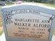 Profile photo:  Margarette Ann <I>Walker</I> Alford