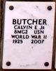 Profile photo:  Calvin E Butcher, JR