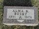 Alma B <I>Barrett</I> Busby