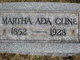"Martha Ada ""Mattie"" Cline"