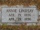 Profile photo:  Annie Lindsay