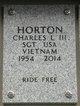 Charles Leroy Horton, III