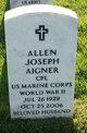 Profile photo:  Allen Joseph Aigner