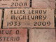 "Ellis Leroy ""Mac"" McGillvary"