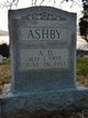 Profile photo:  A. D. Ashby