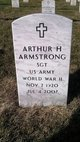 "Profile photo:  Arthur H ""Art"" Armstrong"