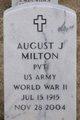 Profile photo:  August J Milton
