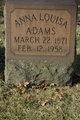 Profile photo:  Anna Louisa Adams