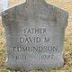 Profile photo:  David M Edmundson