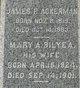Mary A <I>Bilyea</I> Ackerman