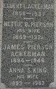 Nettie B <I>Pierson</I> Ackerman