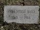 Profile photo:  Anna <I>Steele</I> Baily