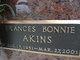 Frances Bonnie Akins