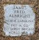Pvt James Fred Albright