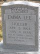 Profile photo:  Emma <I>Lee</I> Holler