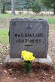 William G Ballard