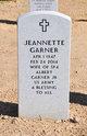 Profile photo:  Jeanette Garner
