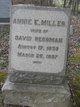 Profile photo:  Annie E. <I>Miller</I> Reesman