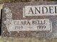 Profile photo:  Clarabelle Rose <I>Kramer</I> Anderson