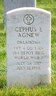 "Profile photo:  Josephus Ewing ""Cephus"" Agnew"