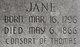 Jane <I>Montgomery</I> Arbuckle