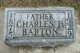 Profile photo:  Charles H. Barton