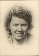 "Profile photo:  Alice Bertha ""Sally"" Hand"