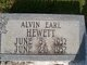 Profile photo:  Alvin Earl Hewett