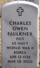 Profile photo:  Charles Owen Faulkner