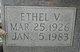 Profile photo:  Ethel Vivian <I>Kincherlow</I> Allgood