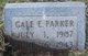 Gale E Parker