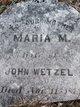 Maria M Wetzel